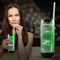 Green Glow Motion Straws- 9