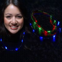 LED Beaded Necklaces