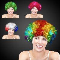 Light Up LED Spirit Costume Wig