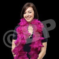 Pink Adult Size Feather Boa