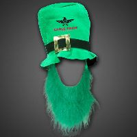 St. Patrick's Day Hat with Green Beard