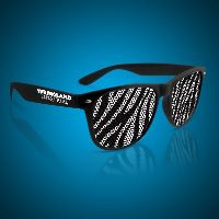 Zebra Print Novelty Sunglasses