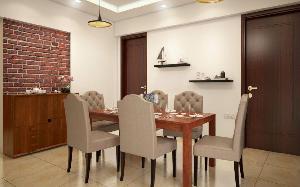 3D Dining Room Interior Designing