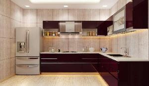 3d Kitchen Interior Designing