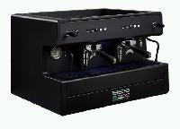 LED All Black Espresso Coffee Machine