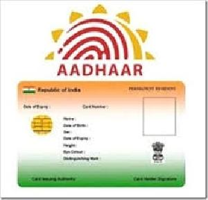 Pvc Aadhar Card Printing Services