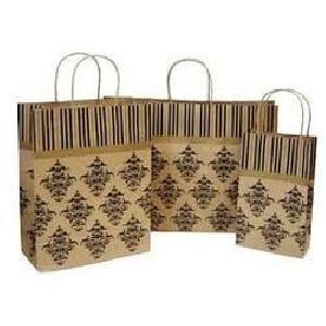 Printed Paper Shopping Bag