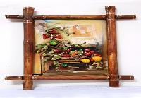 Fruits Decorated On Bamboo Frame