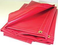 White Flame-retardant Vinyl Laminated Polyester Fabrics