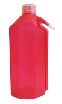 Azlon Red Integral Wash Bottle