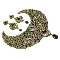Kundan Polki Necklace Set