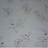 Polyester Organza Printed Fabric