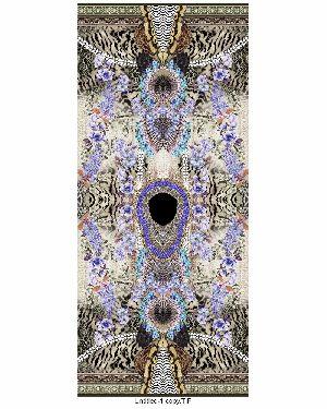 Beautiful Digital Printed Kaftan