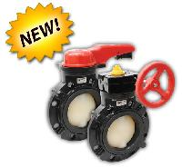 Fybroc Series NM WSB Wafer Style Butterfly Valves