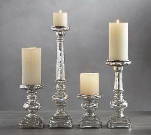 Glass Pillar Holders