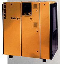 BSD 40, BSD Series Direct Drive Kaeser Rotary Screw Compressor