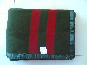 Green Military Blankets