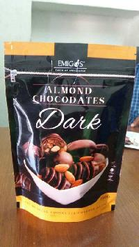 Emigos Almond Dark Chocolate Dates 150 Gm