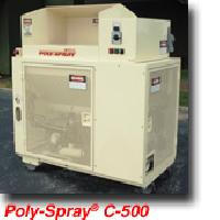 Poly-sprayfiber Spraying Machine