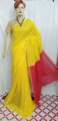Handloom cotton silk