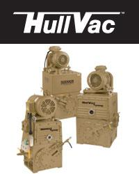 Hullvac Rotary Piston Vacuum Pumps