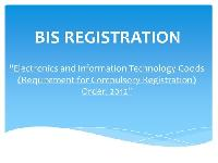 Bis Certification
