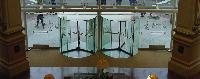 Crystal Tq Glass Revolving Door