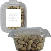 Square Safe-t Fresh Container With Pistachios Nuts