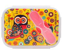 Paisley Owl Lunch Box