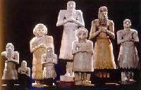 Sumerian Devotional Statues