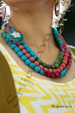 how to make necklace in tamil