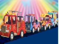 Truck Train amusement ride