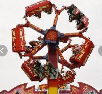 Typhoon amusement ride