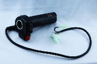 Black Motorcycle Electric Scooter Bike Throttle Grip