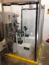 Chemical Safety Curtains