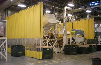 INDUSTRIAL SAFETY CURTAIN WALLS