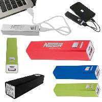 Portable Metal Power Bank Charger