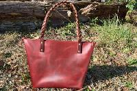 Handmade Horween Leather Tote Bag