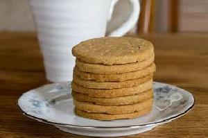 Whole wheat flour Biscuits with pure Ghee