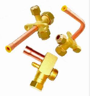 Brass Split Air Conditioner Valves