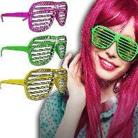 Sparkle Slotted Glasses