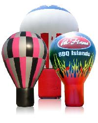 Hot Air Rooftop Advertising Inflatables