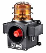 Scdwlr, Heavy Duty Led Revolving Warning Light With Sound Signal