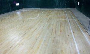 Sporst wooden flooring