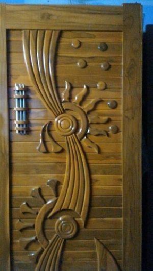 TWD-002 Teak Wood Doors