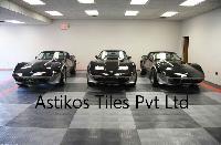 designer parking tiles