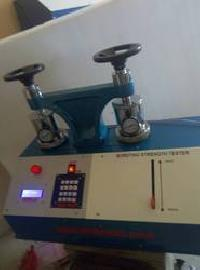 Bursting Strength Tester With Pressure Indicator double head