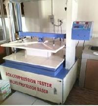 Microprocessor Based Box Compression Tester