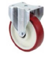 100X35 mm Medium Duty Pressed Steel Rigid Castors