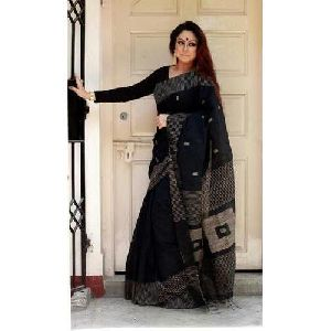 Black Handloom Sarees